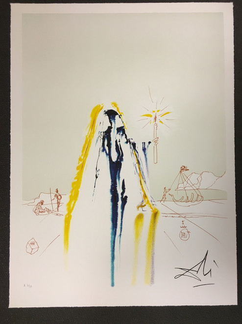 Surrealist Matador Fine Art Lithograph