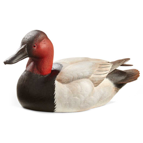 Canvasback Duck Original Wood Carving by Sam Nottleman