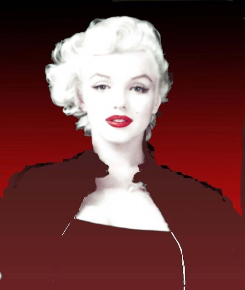 Radiant Marilyn Monroe Lithograph