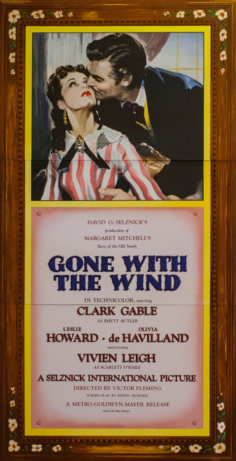 Gone With the Wind 1939 Three Sheet Movie Poster Fine Art Lithograph
