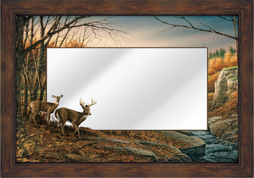Indian Summer Large Decorative Mirror by Terry Redlin