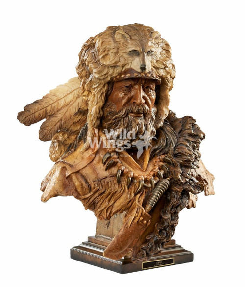 Legend Mountain Man Sculpture by Stephen Herrero