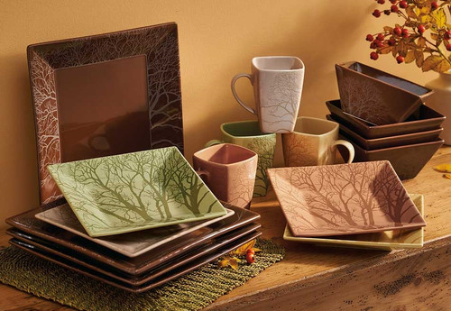 Among Trees 16 Piece Dinnerware Set by Steven Kozar