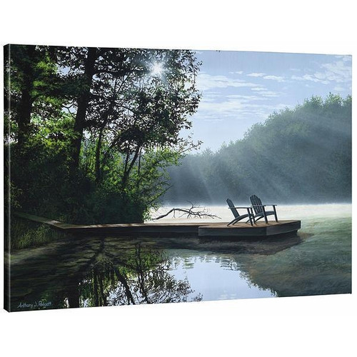A Place to Ponder Gallery Wrapped Canvas by Anthony Padgett