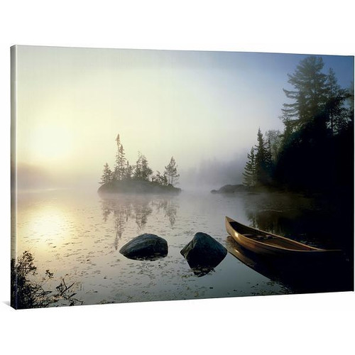 Journey Home Gallery Wrapped Canvas by Travis Melin