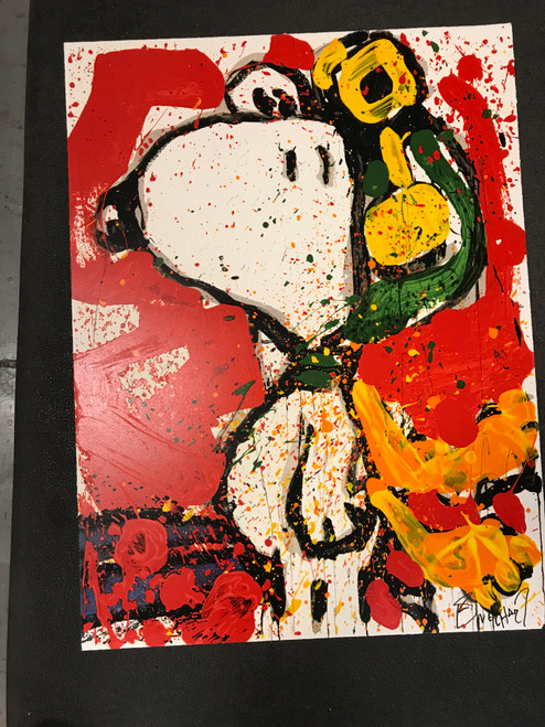 To Remember Salute Lithograph by Tom Everhart