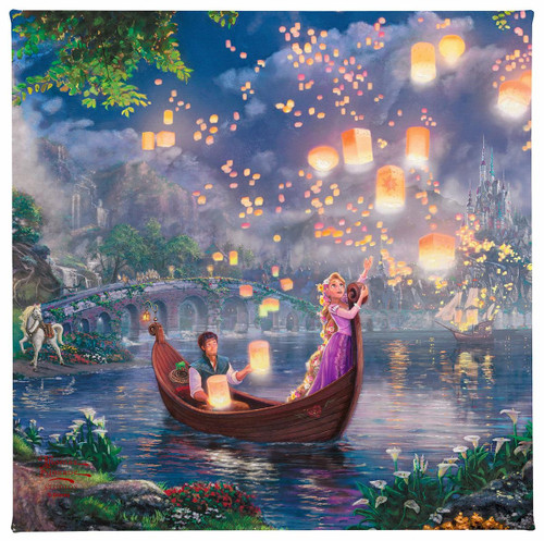 Tangled Gallery Wrapped Canvas by Thomas Kinkade Studios