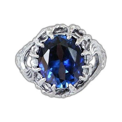 Vilya Ring of Elrond in Sterling Silver