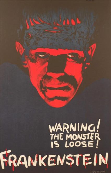 Frankenstein Fine Art Advance Poster Lithograph
