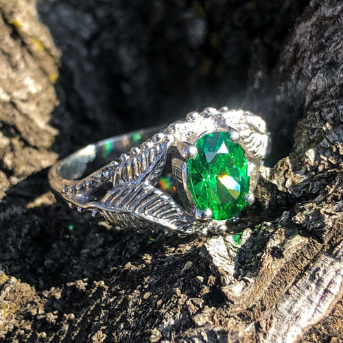 Elven Realms Ring in Sterling Silver