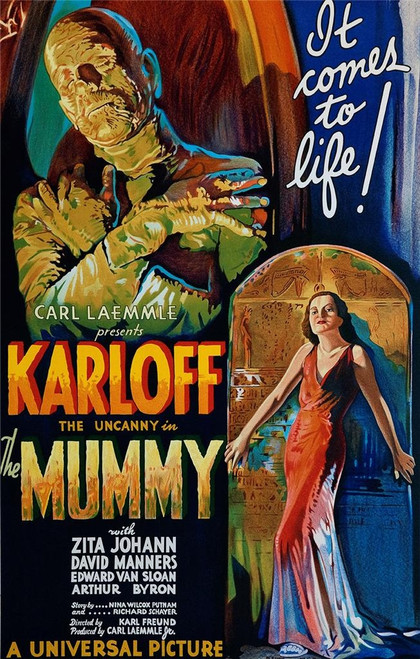 The Mummy Fine Art Lithograph Poster
