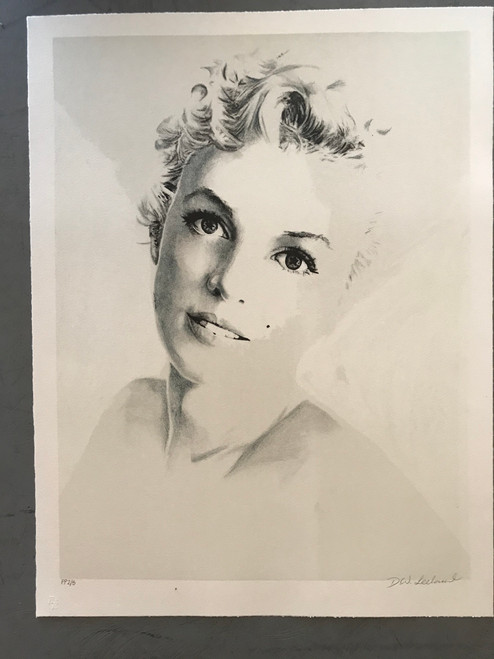 Starry Eyed Monroe Lithograph