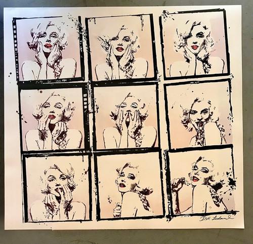Marilyn Monroe Girl on Film Lithograph