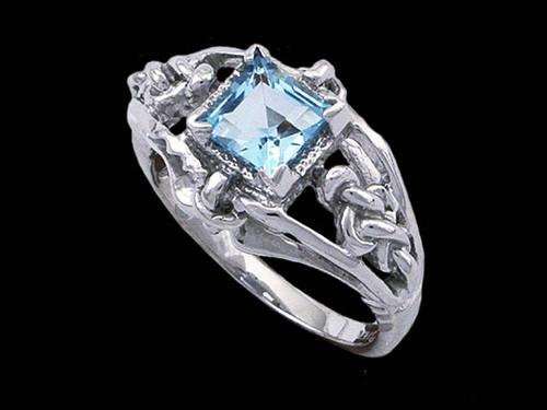 Denna's Ring in 14k White Gold