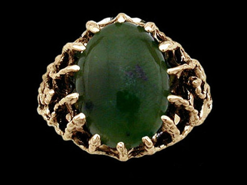 Medieval Suitor Lord's Jade Ring