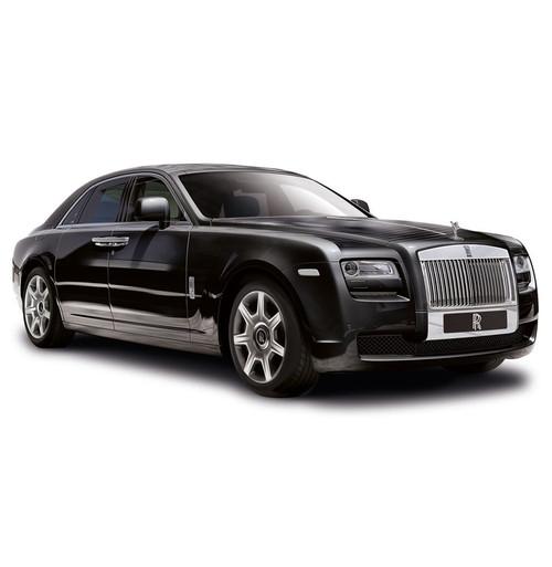 Rolls Royce  2010 Ghost Diamond Black 1:8 Scale Model