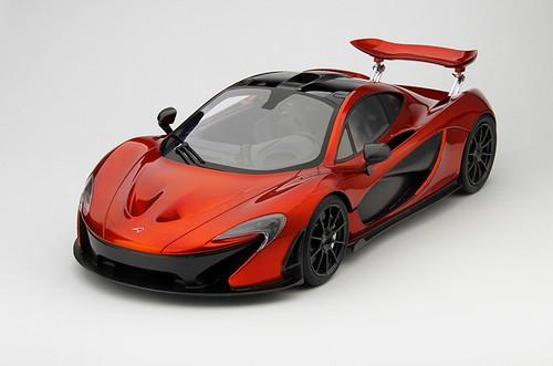 McLaren P1 2013 Volcano Orange 1:12 Scale  by TSM-Model