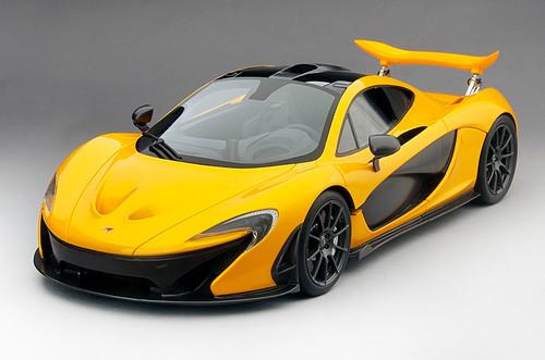 McLaren P1 2013 Volcano Yellow 1:12 Scale  by TSM-Model