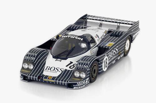 Porche 956 #18 1983 Le Mans 24 Hrs Boss Obermaier Racing 1:12 Scale by TSM-Model
