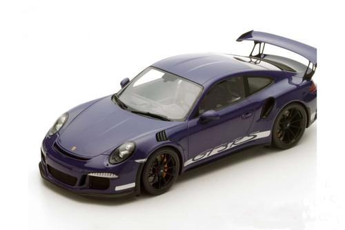 Porsche 911 2016  Ultra Violet GT3 RS 1:12 Scale Model by Spark