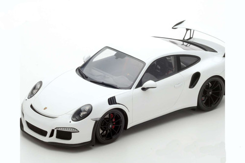 Porsche 911 2016 White GT3  RS  1:12 Scale Model by Spark