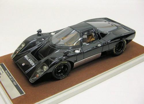 McLaren M6 GT 1969 Gloss Black 1:18 Scale Model by Tecnomodel