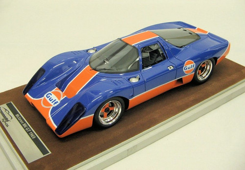 McLaren M6 GT 1969 Gulf Edition 1:18 Scale Model by Tecnomodel