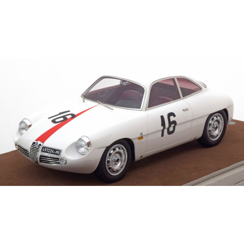 Alfa Romeo Giulietta SZ Zagato 1960 Coppa Monza No 16 Car 1:18 Scale Model by Tecnomodel