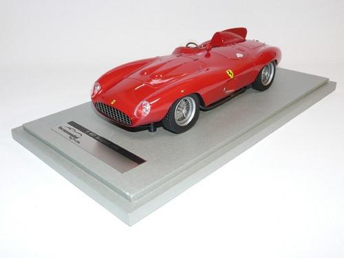 Ferrari F857 Scaglietti 1956 Red Press Version 1:18 Scale Model by Tecnomodel