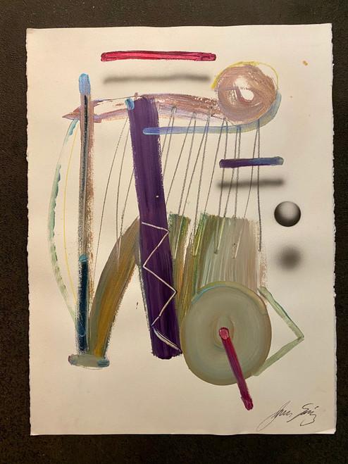 Untitled 16 Acrylic on Paper Juan Sanchez-Juarez