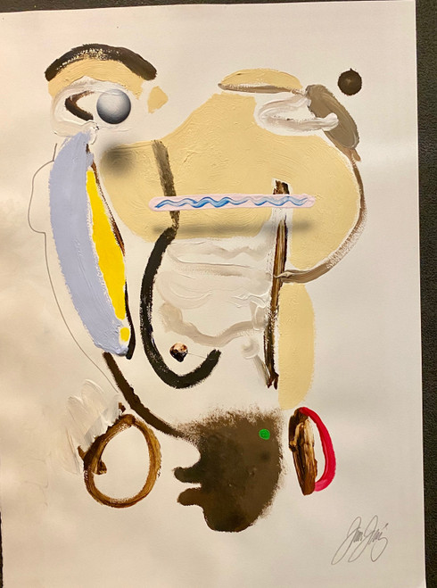 Untitled 18 Acrylic on Paper Juan Sanchez-Juarez