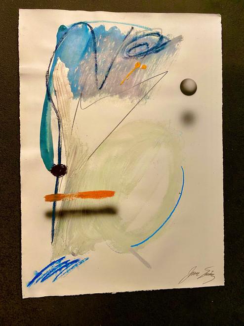 Untitled 22 Acrylic on Paper Juan Sanchez-Juarez