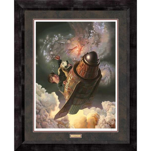 One Small Step Limited Edition Art Print by Bob Byerley