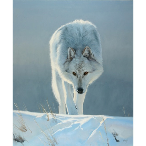 Intent Limited Edition Giclee on Canvas by Edward Aldrich