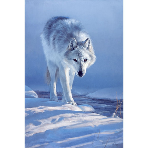 Master of Prowlin Artist Proof Giclee on Canvas by Edward Aldrich