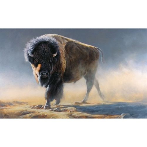 Gray Ghost Limited Edition Giclee on Canvas by Edward Aldrich