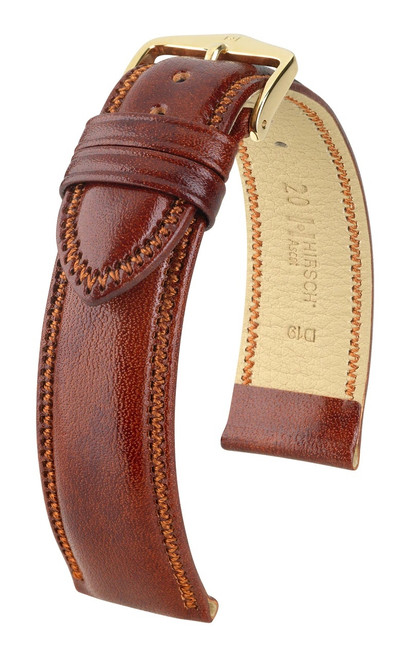 Hirsch Ascot Calfskin Leather Watch Strap