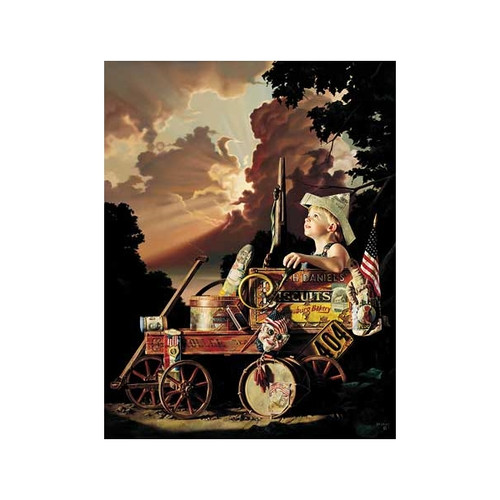 Fireworks Tonight Limited Edition Art Print by Bob Byerley