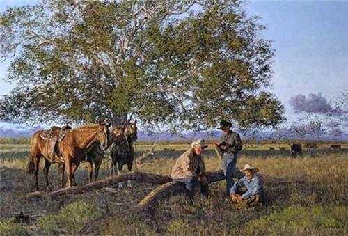 Cowboy Church Limited Edition Canvas by Bradley Schmehl