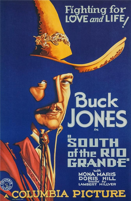 South of the Rio Grande Fine Art Poster Lithograph