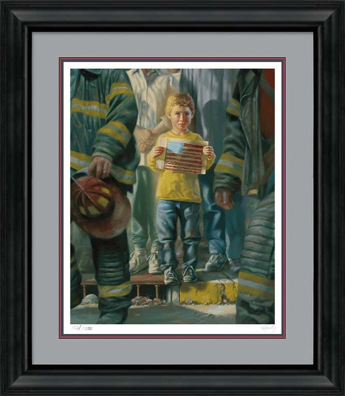The Flag Limited Edition Art Print by Bob Byerley