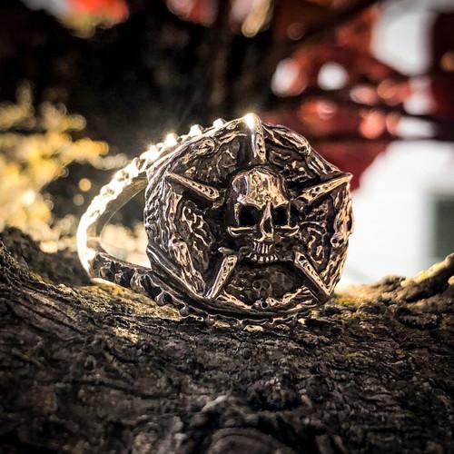 Underworld United Signet Ring in Sterling Silver