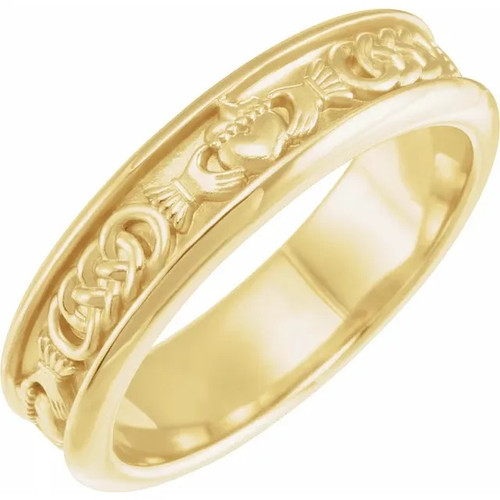 Claddagh Ring in 18k Gold