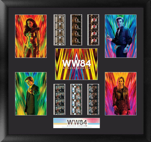 Wonder Woman 1984 Large Film Cell Montage Display S1