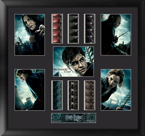 Harry Potter and the Deathly Hallows Large Framed Film Cell Montage Display S2