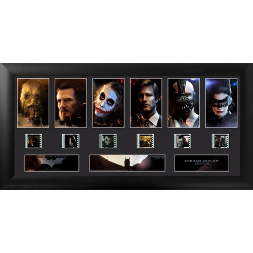 Batman The Dark Knight Trilogy Large Framed  Deluxe Film Cell Display
