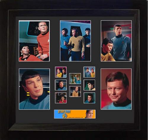 Star Trek The Original Series Large Framed Film Cell Montage Display