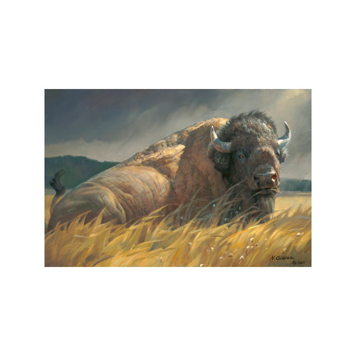 Big Boss Limited Edition Giclée on Canvas by Nancy Glazier