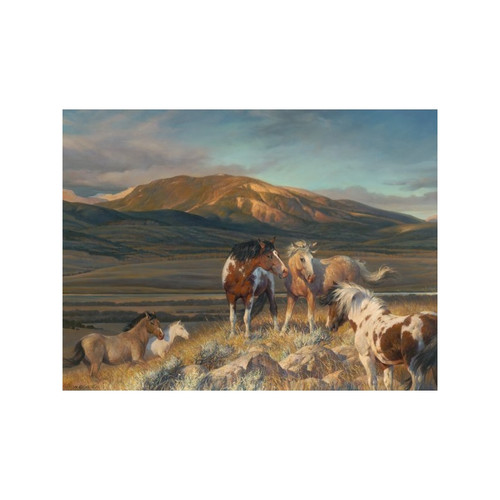 Bright Band Limited Edition Giclée on Canvas by Nancy Glazier