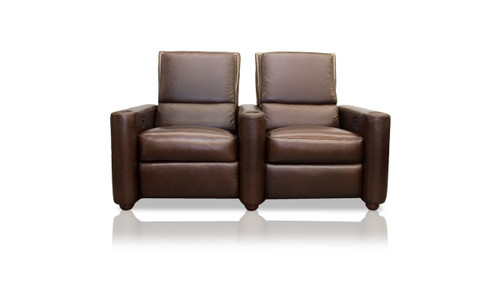 Barcelona 2-seat home theater lounger